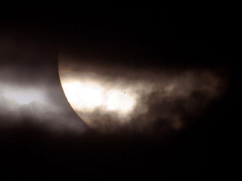 El Tránsito de Mercurio: una mancha inusual en el Sol