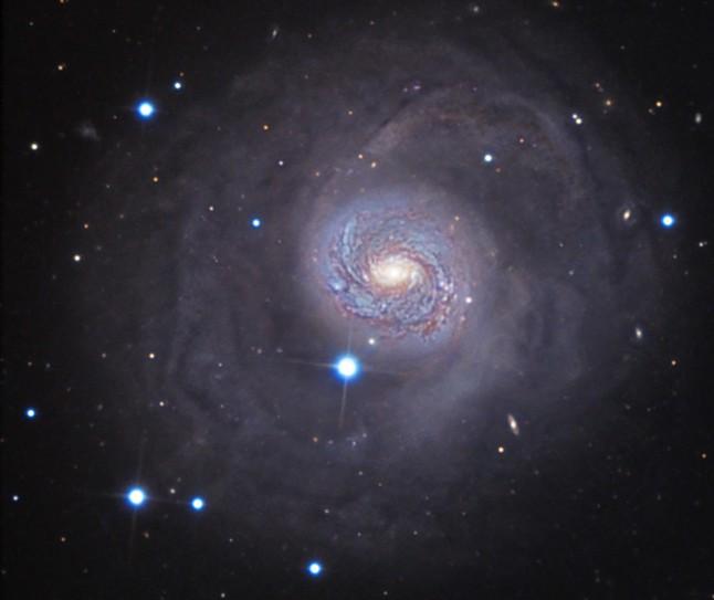 くじら座の銀河系外星雲M77