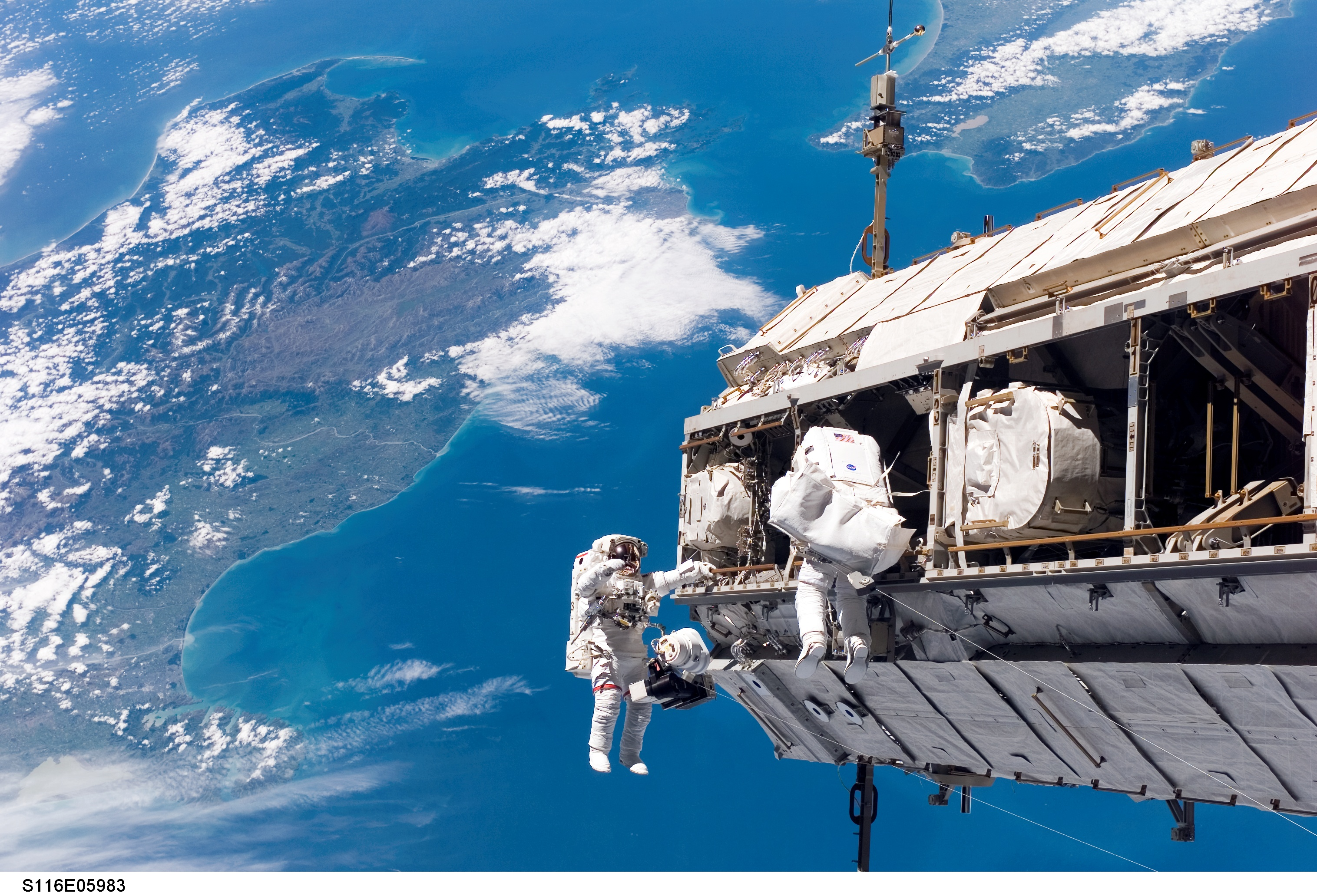 The daily irrelevant » Upgrading the International Space ...