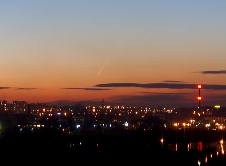Cometa sobre Cracovia