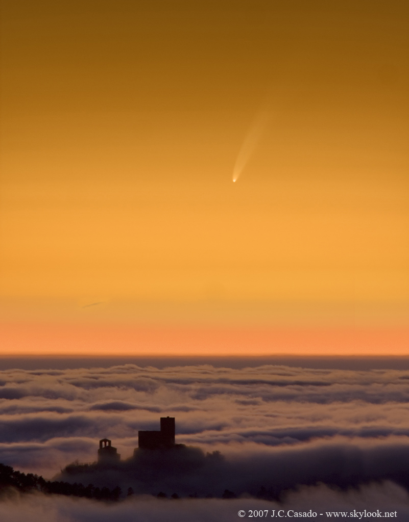 Cometa McNaught. © Juan Casado