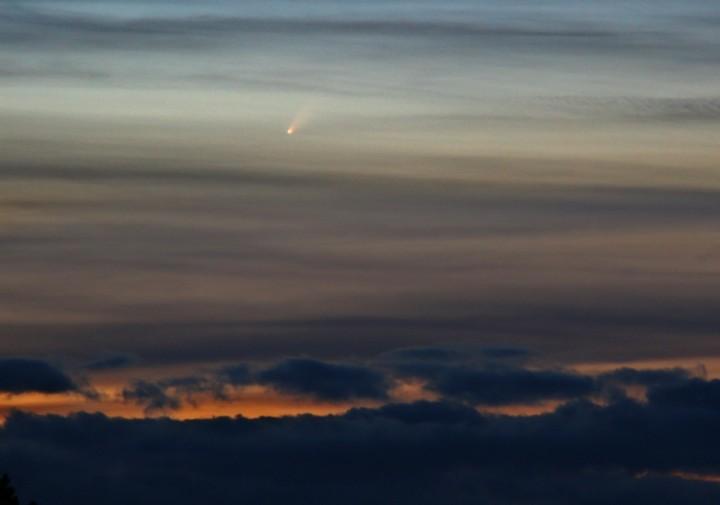 McNaught Ahora, El Cometa más Brillante en Décadas