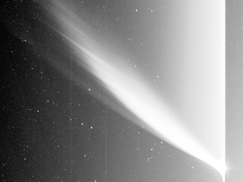 El cometa McNaught desde el nuevo satélite STEREO