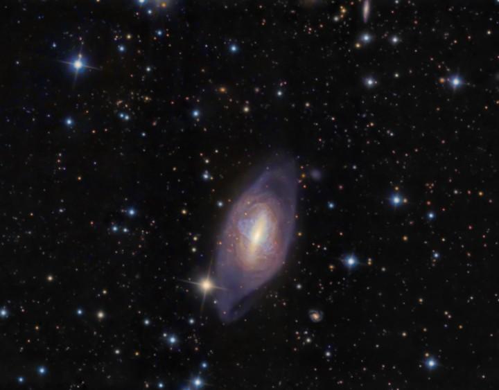 La galaxia de anillo polar NGC 2685