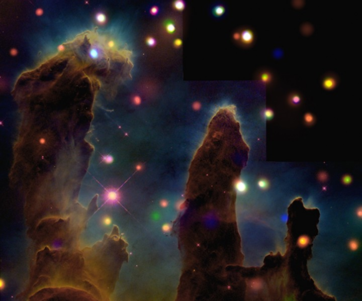 Rayos X y la Nebulosa Aguila