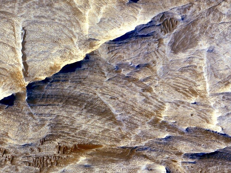 Crestas Blancas en Marte