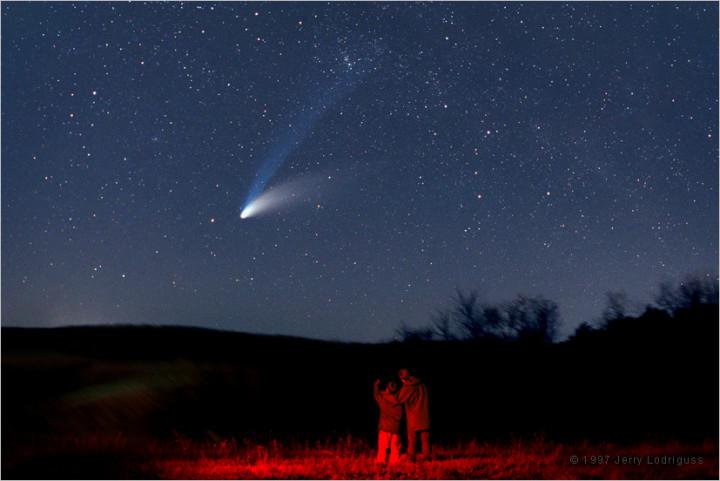 Hale-Bopp: el Gran Cometa de 1997