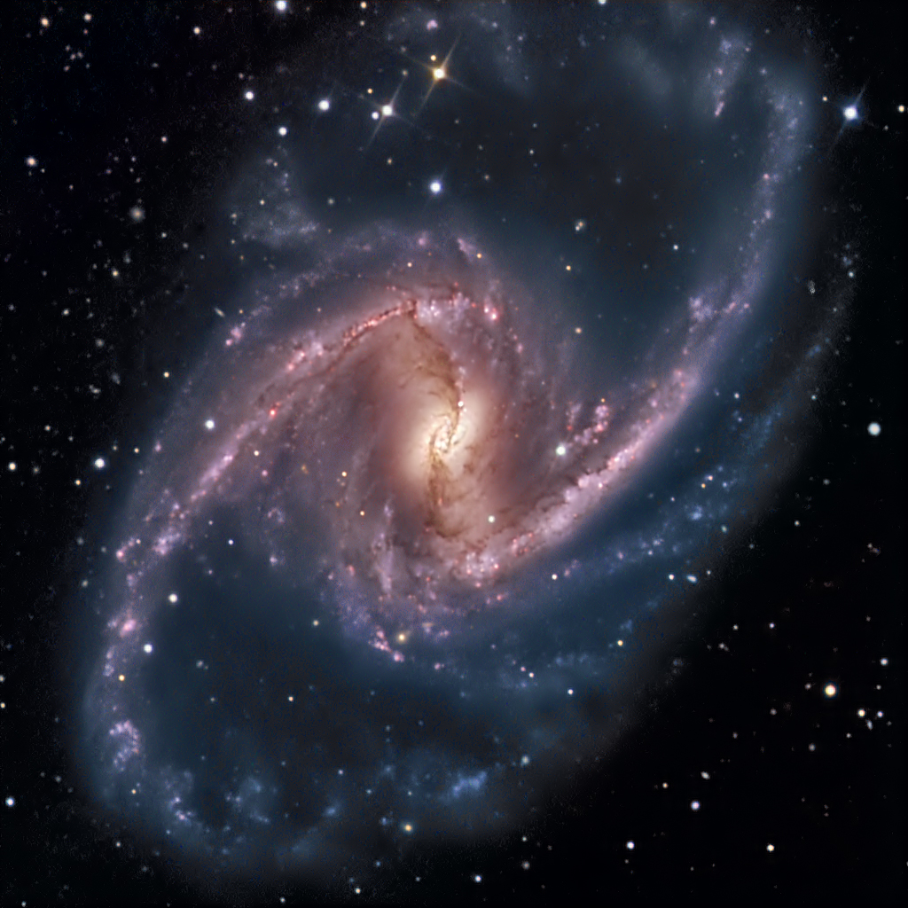 Apod 2007 march 28 ngc 1365 majestic island universe for Immagini galassie hd