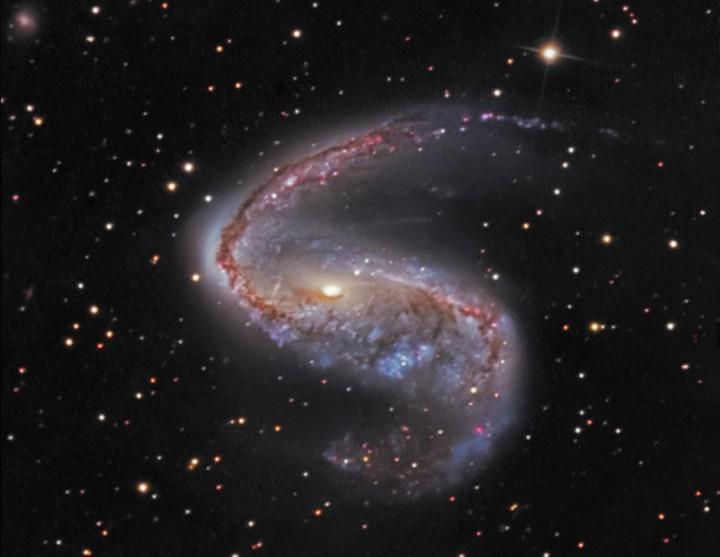 NGC 2442: Galaxia en  Volans