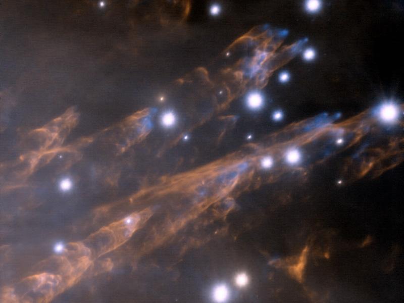 Rastros de balas en Orion