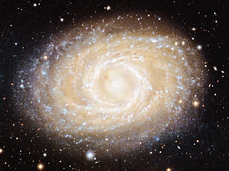Galaxia espiral barrada M95