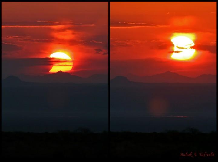 NASA Partiell solförmörkelse i Iran