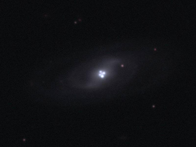 La cruz de Einstein: una lente gravitatoria