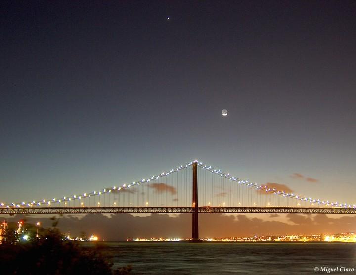 Lisboa: Venus, Luna y Puente