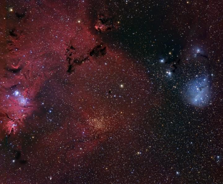 Las vecindades de la Nebulosa del Cono