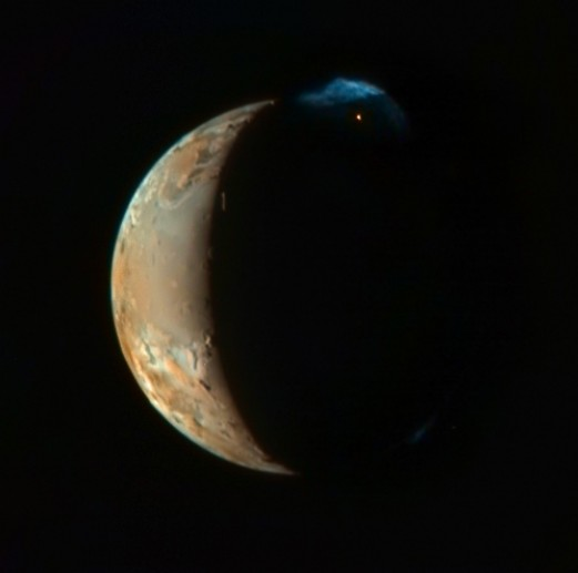 La New Horizons en Ío