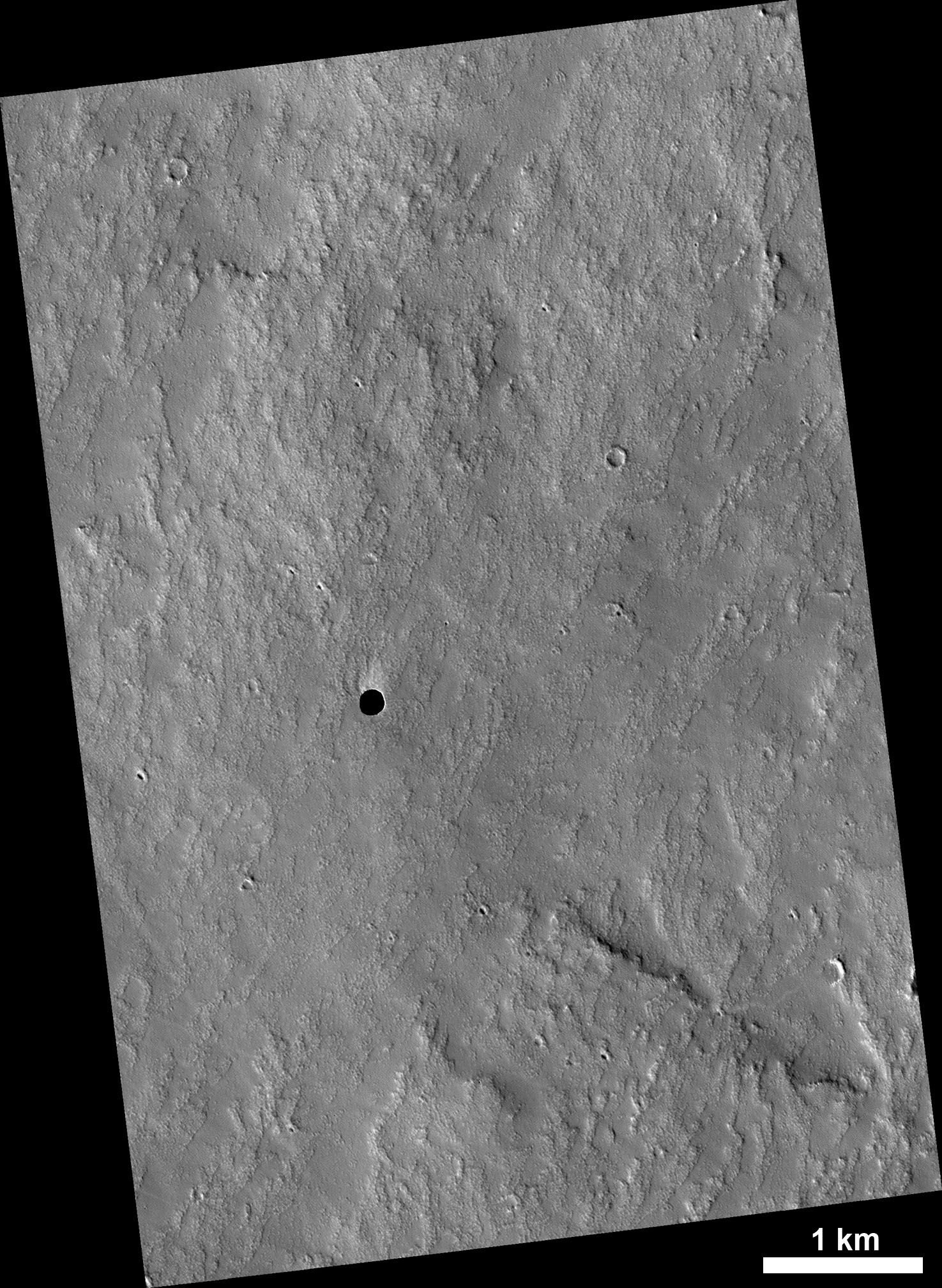 2007 May 28 - A Hole in Mars