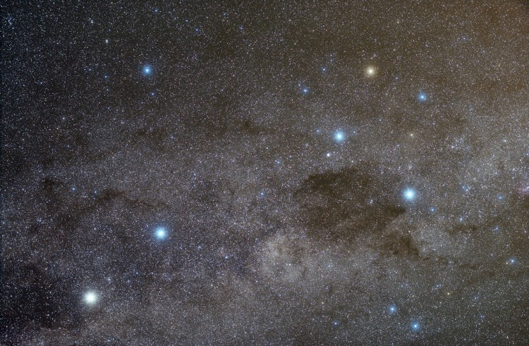 Milky Way near the Southern Cross
