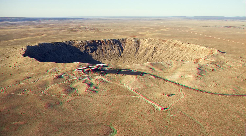 Meteor Crater, Near Winslow, Arizona  № 1143922  скачать
