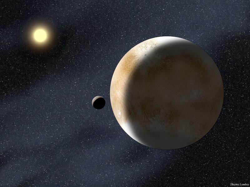 Eris: más masiva que Plutón