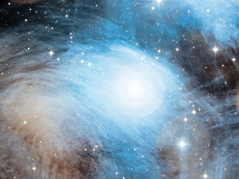 La nebulosa de reflexión Merope