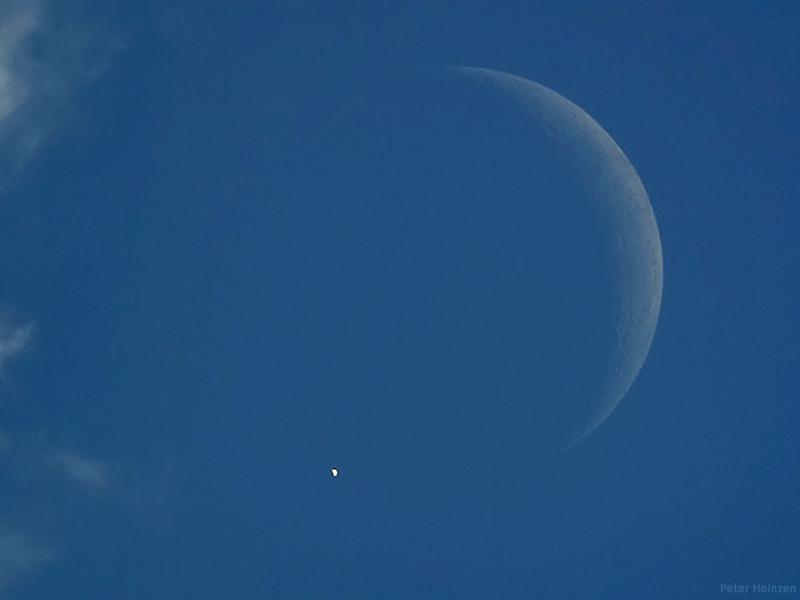 Un eclipse de Venus de día