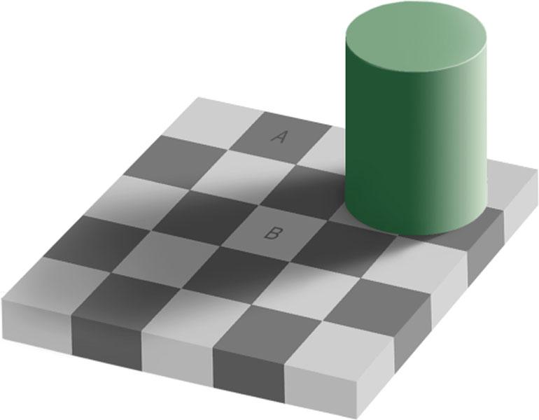 La ilusión del mismo color