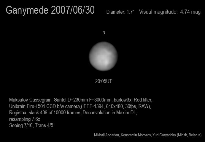 La Luna de los Astronómos