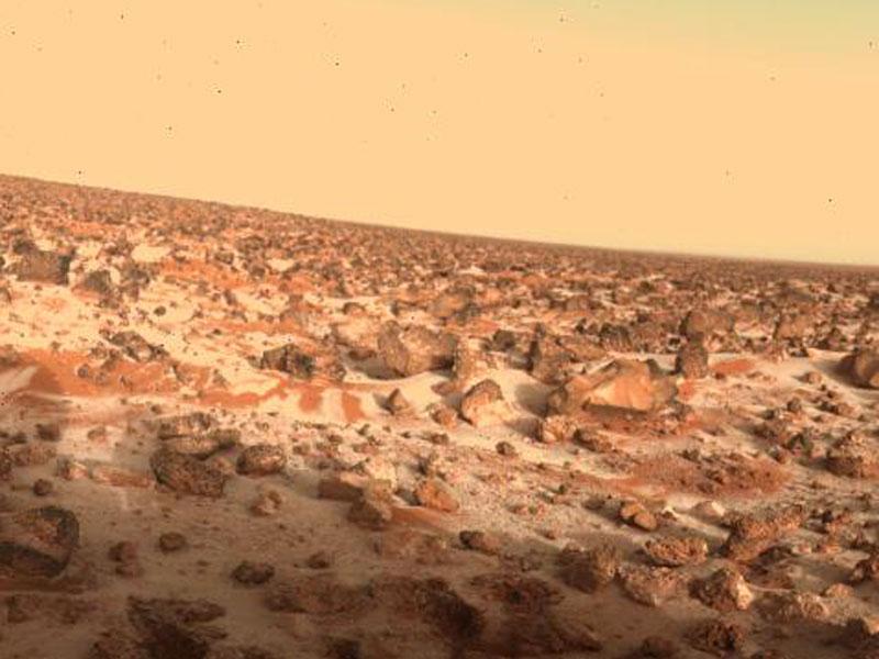¿Puede haber vida basada en el peróxido de hidrógeno en Marte?