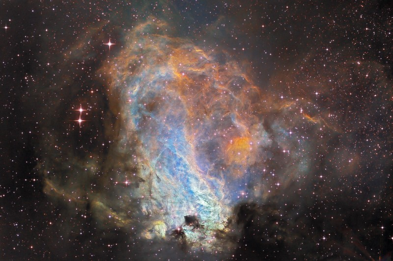 Fábrica de estrellas Messier 17