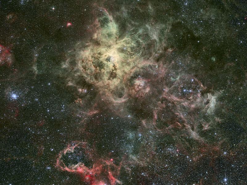Tentáculos de la Nebulosa Tarántula
