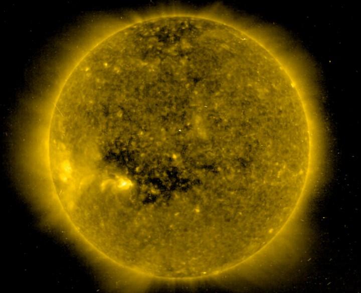 Un agujero en el Sol
