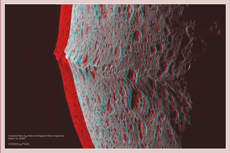 Iapetus: Cresta Ecuatorial 3D