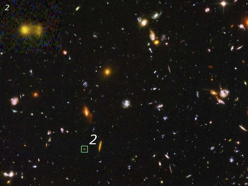 Galaxias en formación en el Universo primitivo