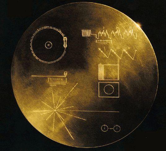 El mensaje en la botella de los Voyager