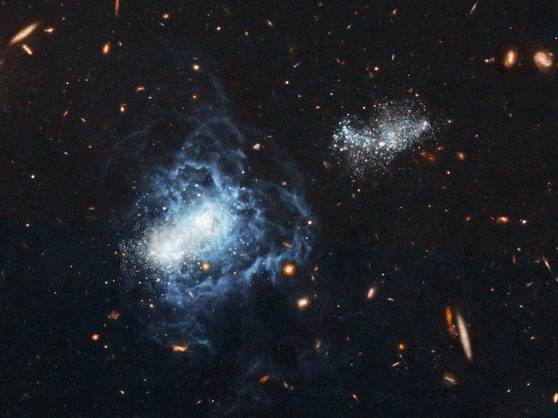 I Zwicky 18: El caso de la galaxia que envejece