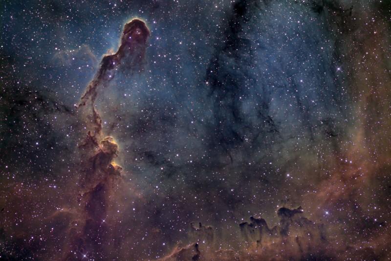 خرطوم فیل در IC1396