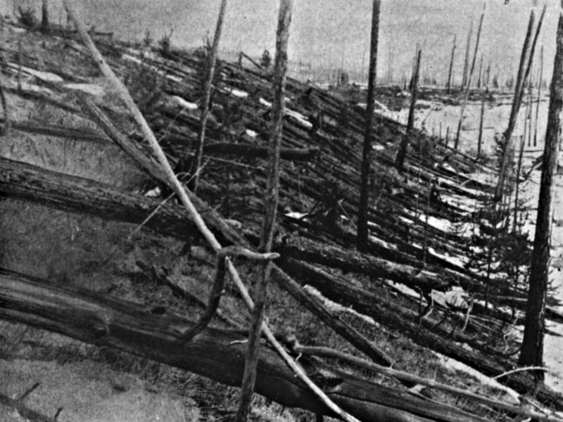 Tunguska: el impacto reciente más grande