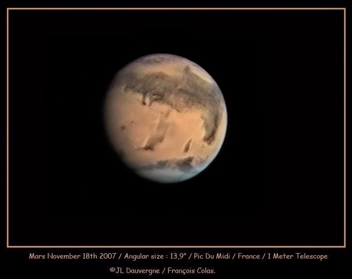 Marte a la vista