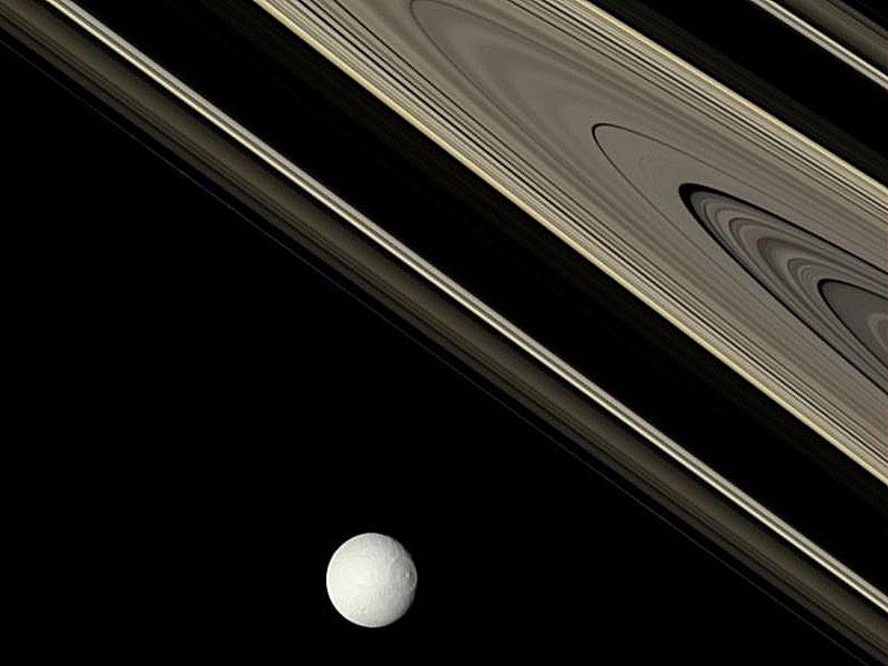 Los viejos anillos de Saturno