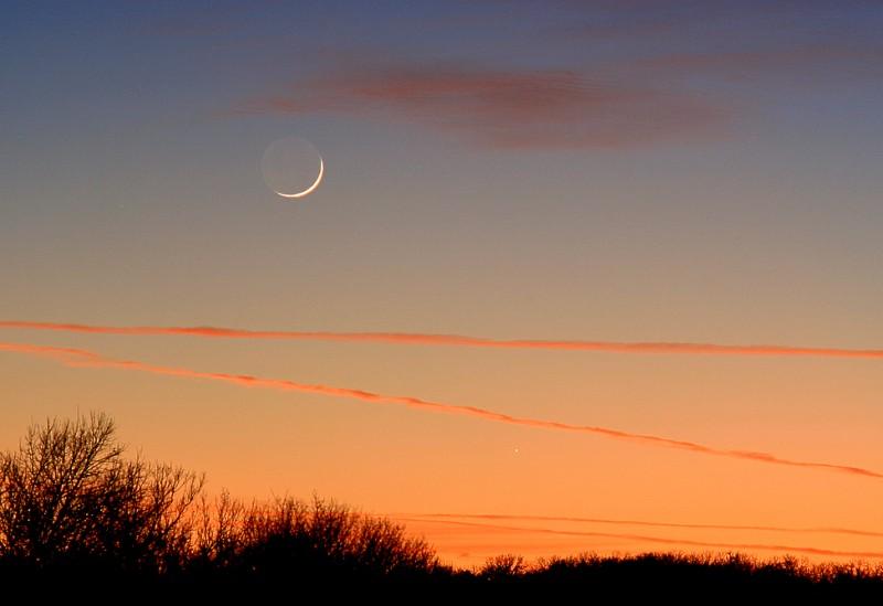 Mercurio persigue la puesta
