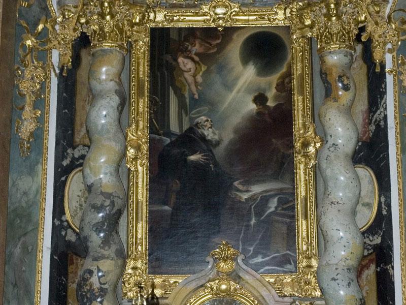 Cuadro de un eclipse solar del siglo XVIII