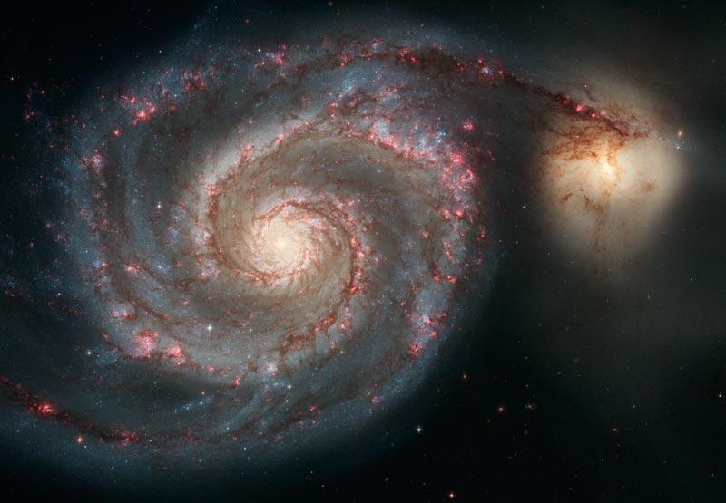 M51: Remolino cósmico