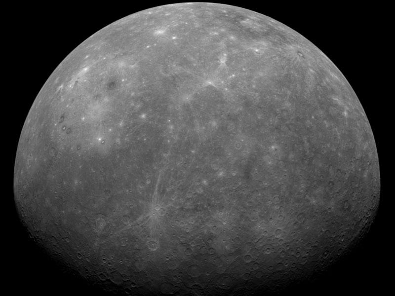 MESSENGER se acerca a Mercurio