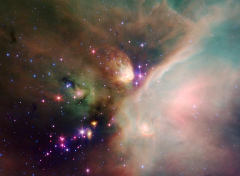 Estrellas jóvenes en la Nube de Rho Ophiuchi