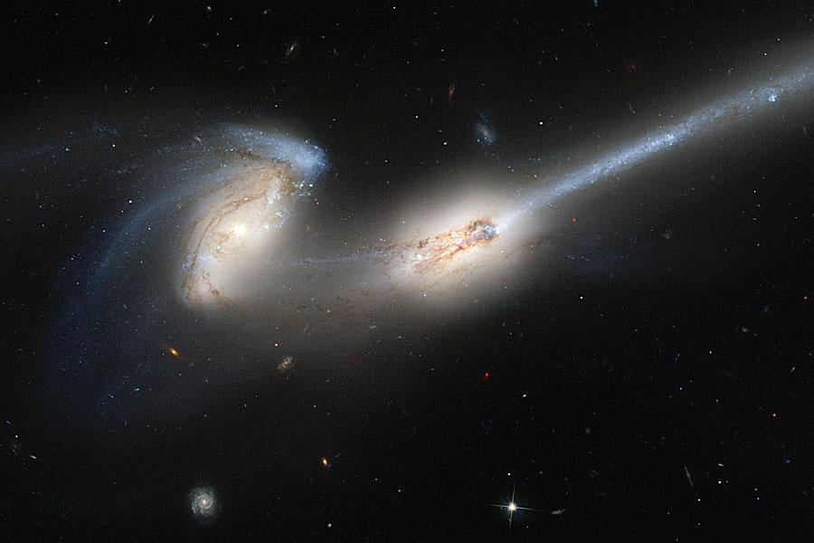 NGC 4676: Cuando los ratones colisionan