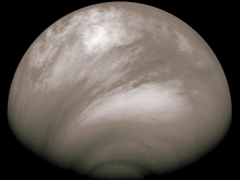 Misteriosa bruma ácida sobre Venus
