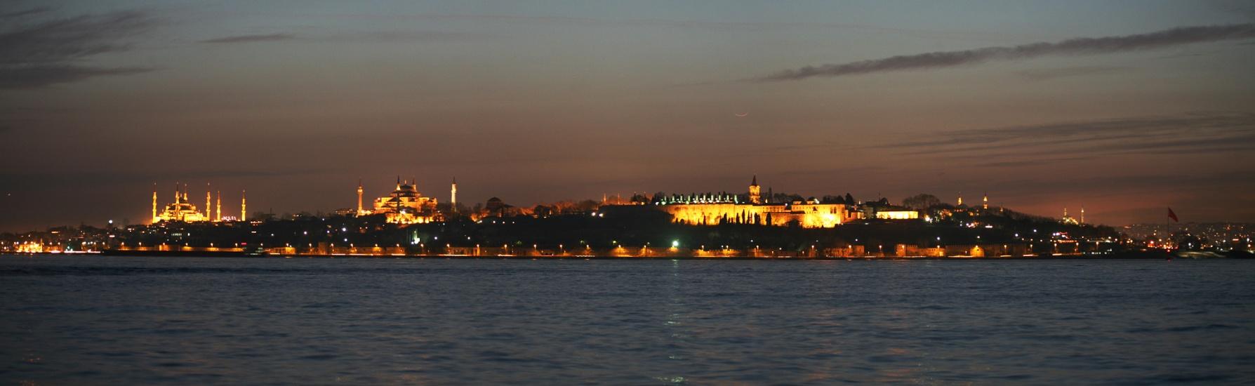 La Luna sobre Bizancio