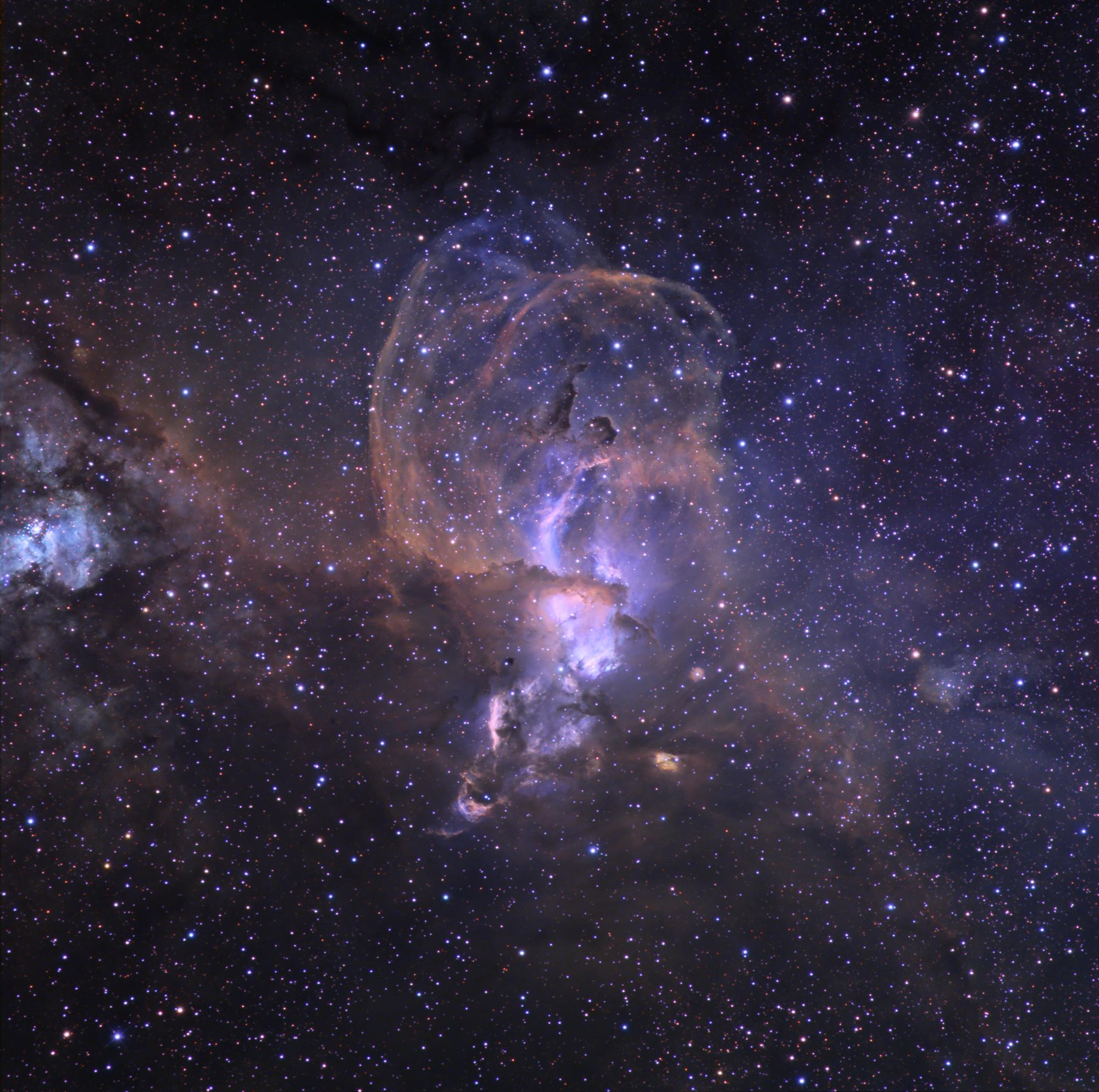 APOD: 2008 March 26 - The NGC 3576 Nebula