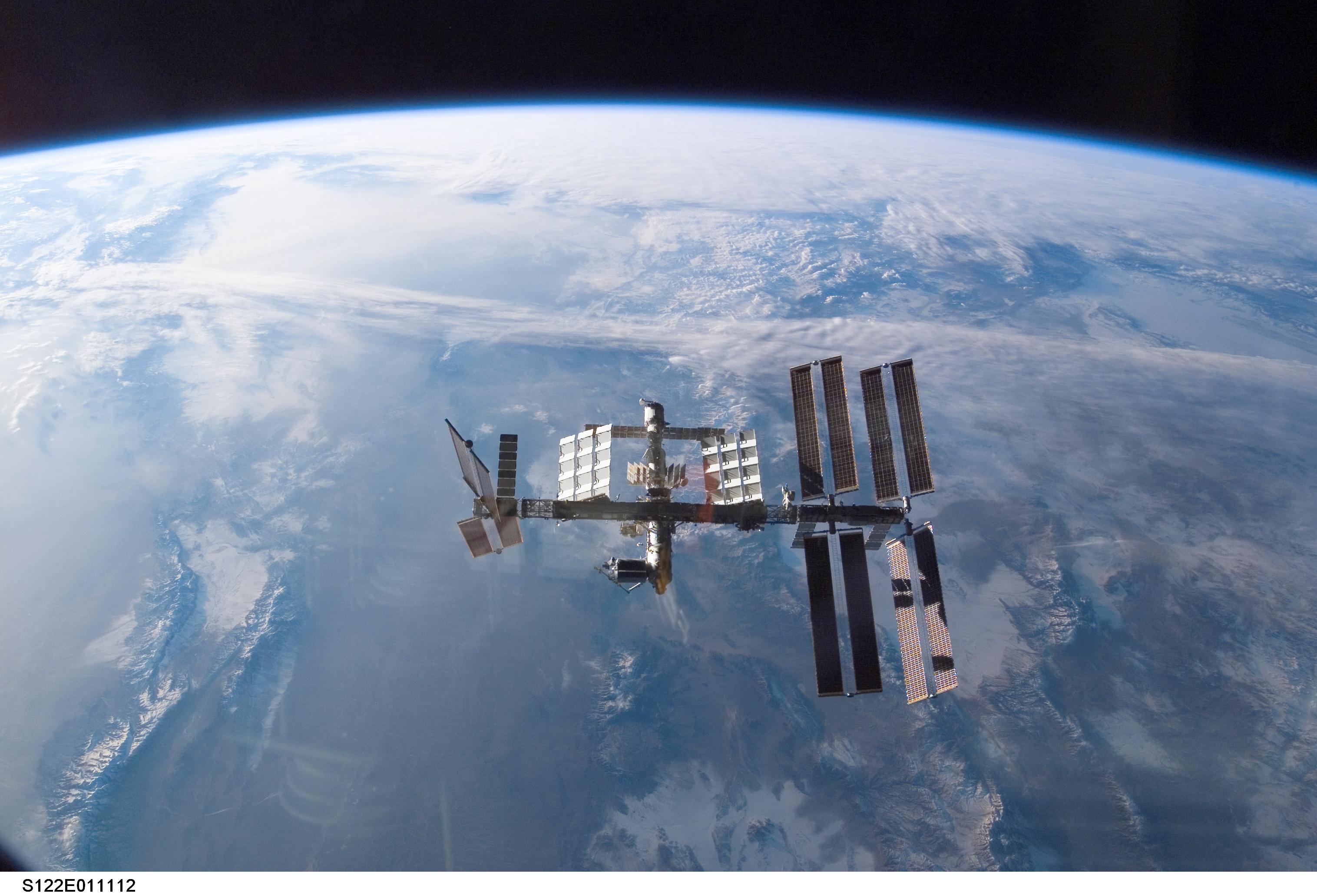 earth orbit video - HD1680×1050